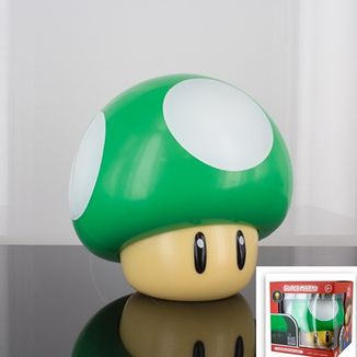 Green Mushroom 3D Light Super Mario Bros