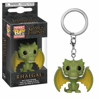 Rhaegal Keychain Game Of Thrones POP!