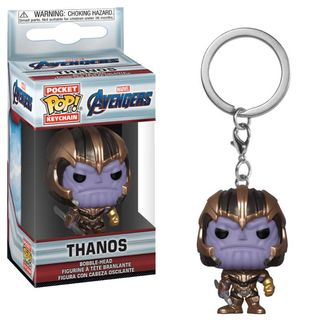 Llavero Thanos Avengers Endgame POP!